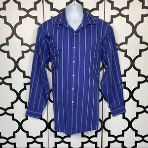 Tommy Hilfiger Long Sleeve Button Down Dress Shirt